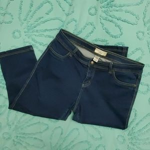 Angel Kiss Denim Capri size 18